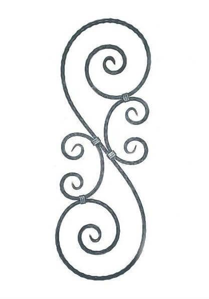 Veliki S sa perecama, moze da se napravi od razlicitog materijala i po dimenzijama koje vam odgovaraju